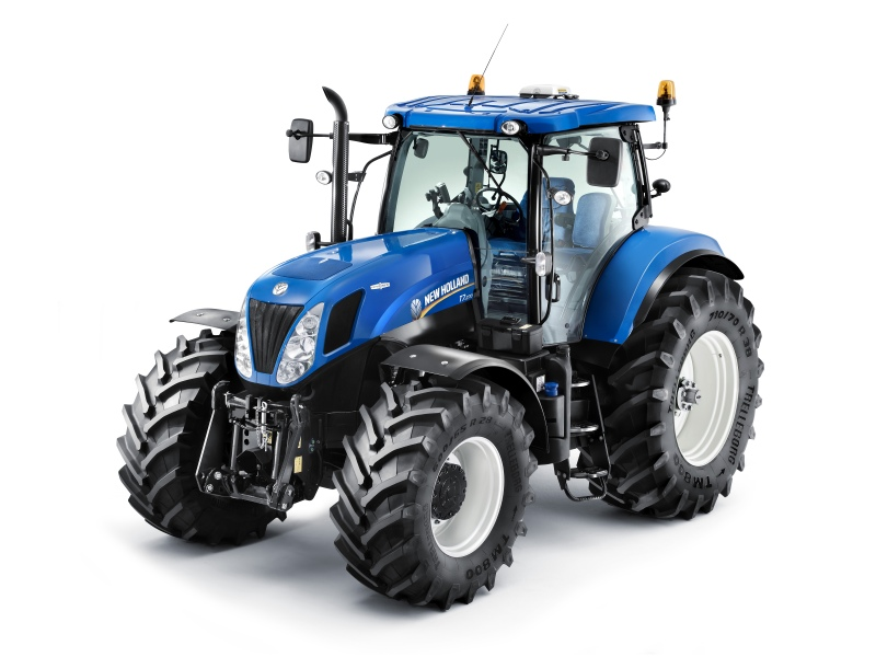 Christmas Happiness As New Holland Tractor Is Recovered